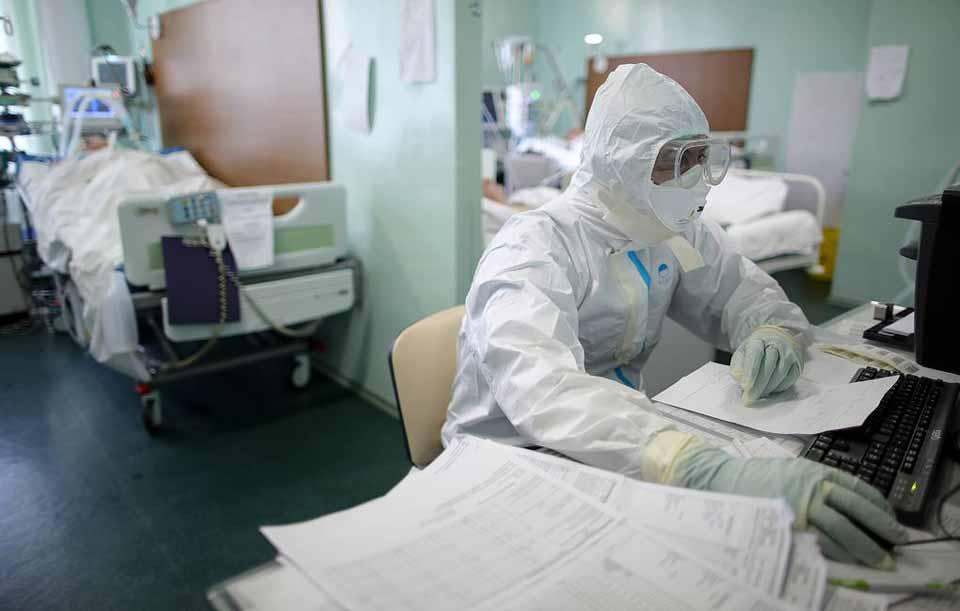 მოსკოვში ბოლო 24 საათში ახალი კორონავირუსით 41 პაციენტი დაიღუპა
