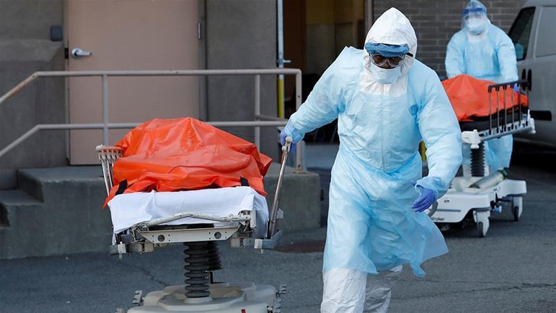 აშშ-ში კორონავირუსით გარდაცვლილთა რიცხვი 1 145-ით გაიზარდა