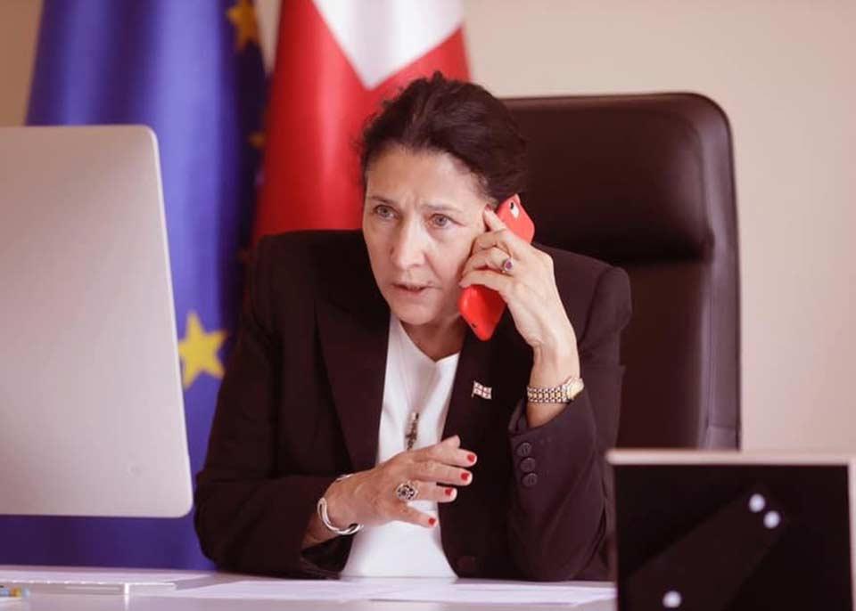საქართველოს პრეზიდენტისადმინისტრაცია- მარტი-მაისის პერიოდში სალომე ზურაბიშვილი 50 ქვეყნის ლიდერს ესაუბრა, მობილური ტელეფონის ხარჯმა 200 ლარი და 98 თეთრი შეადგინა