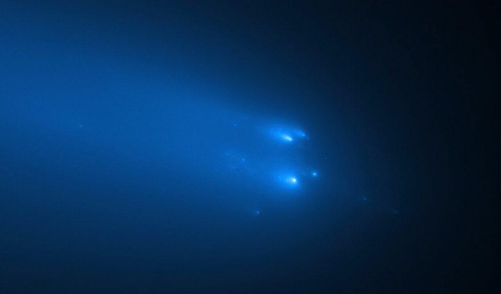 მზის სისტემის შიდა ნაწილში შემოსული კომეტა ნამსხვრევებად იქცა — ჰაბლმა პროცესი გადაიღო