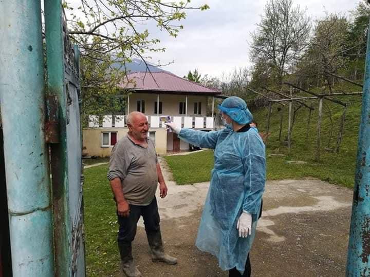 ცაგერის მუნიციპალიტეტში თერმოსკრინინგი 12 ათას ადამიანს ჩაუტარდა