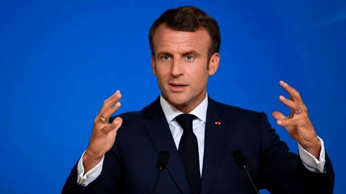 საფრანგეთის პრეზიდენტი მთელ ევროპას საფეხბურთო სეზონის ნაადრევად დასრულებისკენ მოუწოდებს