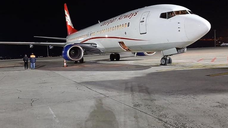 ამსტერდამი-თბილისის სპეცრეისით საქართველოს 180 მოქალაქე დაბრუნდა