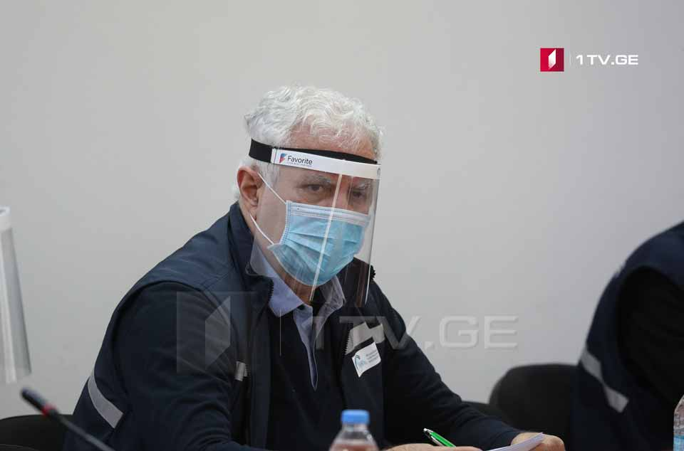 Амиран Гамкрелидзе - Сегодня у нас был пик исследований, выявлено 16 новых случаев