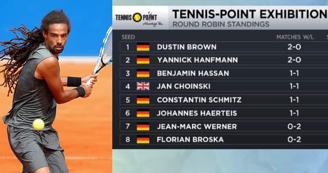 გერმანიაში მიმდინარეობს ტურნირი ATP-ის ჩოგბურთელთა მონაწილეობით
