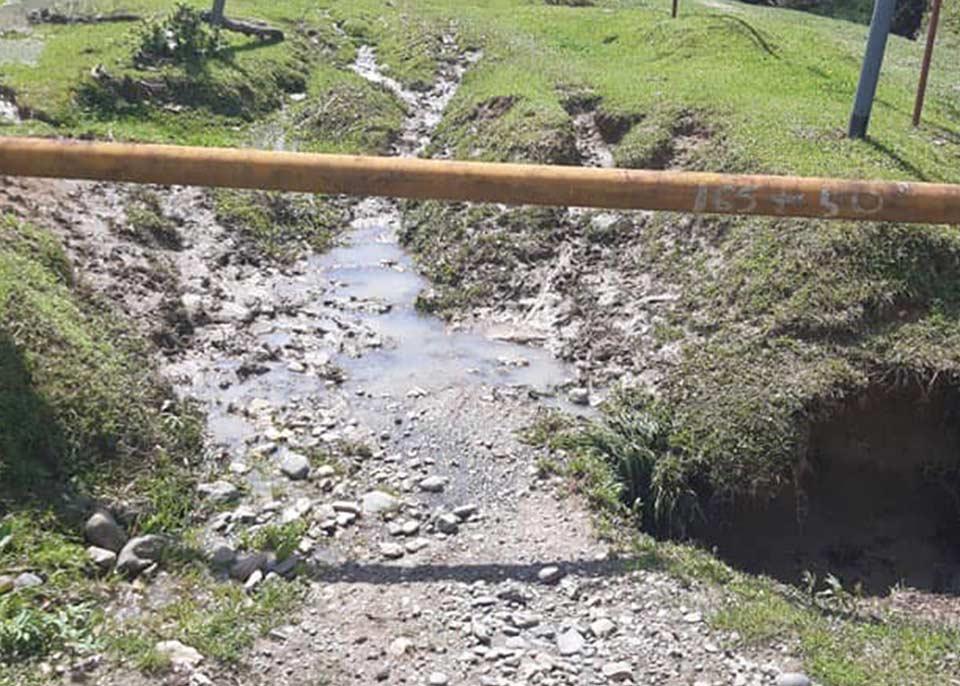 Ущерб от стихии в Сачхерском муниципалитете превышает 1 млн. лари