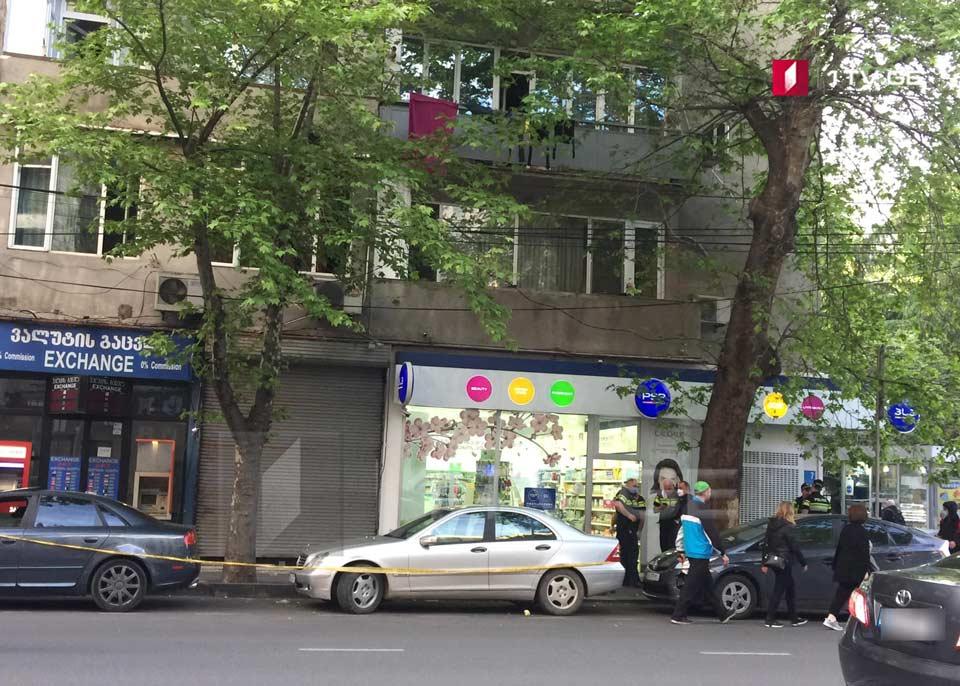 თბილისში, ცინცაძის ქუჩაზე ინციდენტი მოხდა