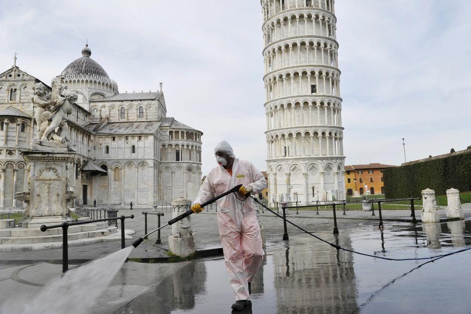 იტალიაში გასული დღე-ღამის განმავლობაში კორონავირუსით 162 ადამიანი დაიღუპა