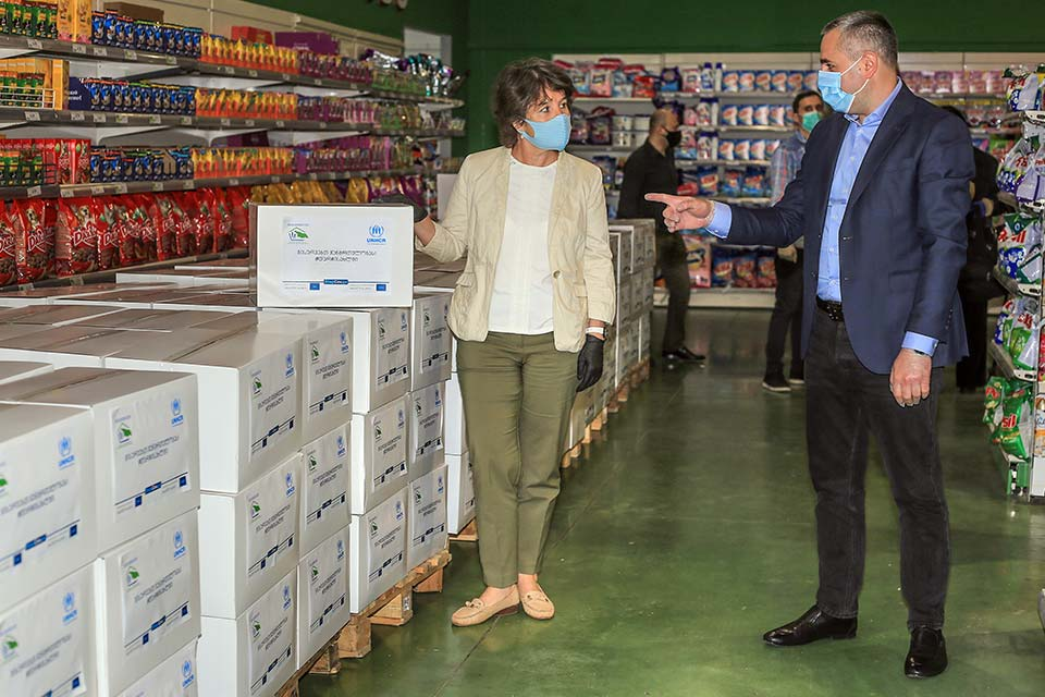 გაერო-ს ლტოლვილთა უმაღლესი კომისარიატისა და დევნილთა სააგენტოს თანამშრომლობის შედეგად 1 000 დევნილი ოჯახი დახმარებას მიიღებს