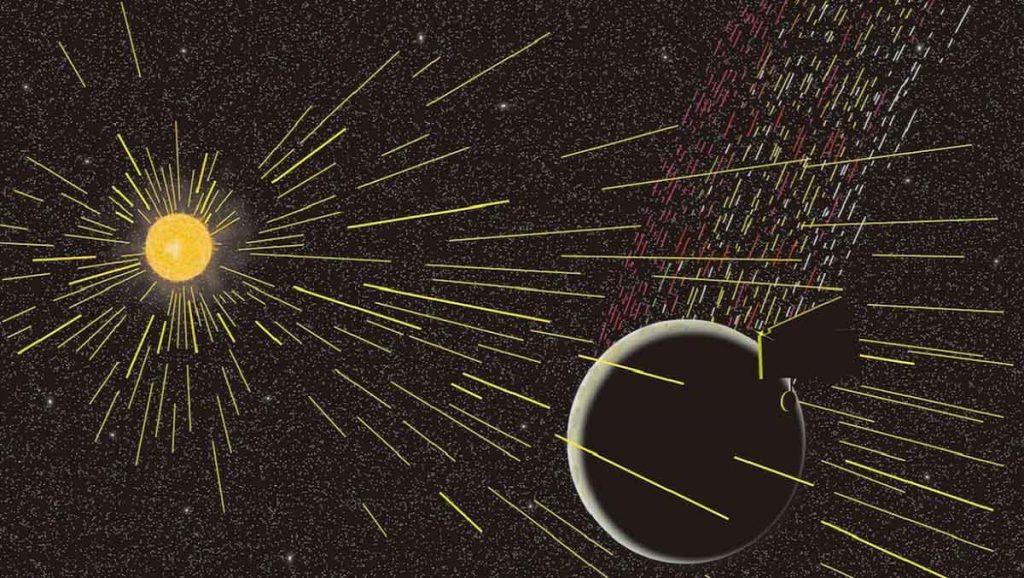 დაფიქსირებულია მთვარის მიერ გამოყოფილი ნახშირბადი, რაც მთვარის წარმოშობის ამჟამინდელ თეორიას ეჭვქვეშ აყენებს