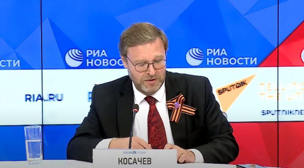 Konstantin Kosachev: Russia is ready to resume parliamentary dialogue with Ukraine and Georgia