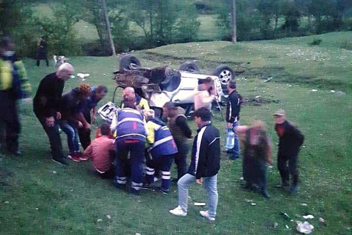 წყალტუბოში ავტოავარიისას მამაკაცი დაშავდა