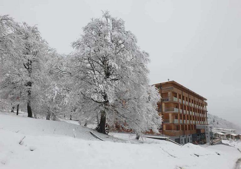 მაისის თოვლი ბაკურიანში [ფოტო]