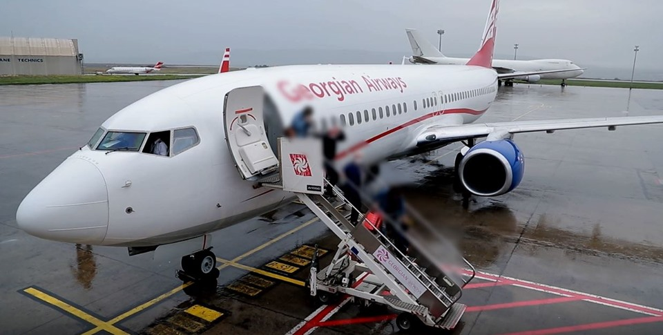 183 Georgian citizens returned home viaBerlin-Tbilisi flight