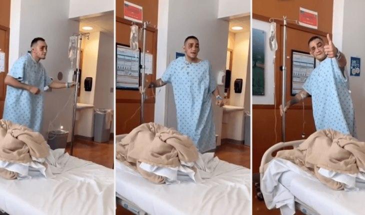 ტონი ფერგიუსონმა საავადმყოფოდან სახალისო ვიდეო გამოაქვეყნა [ვიდეო]