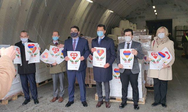 Lithuania sent humanitarian medical aid to Georgia