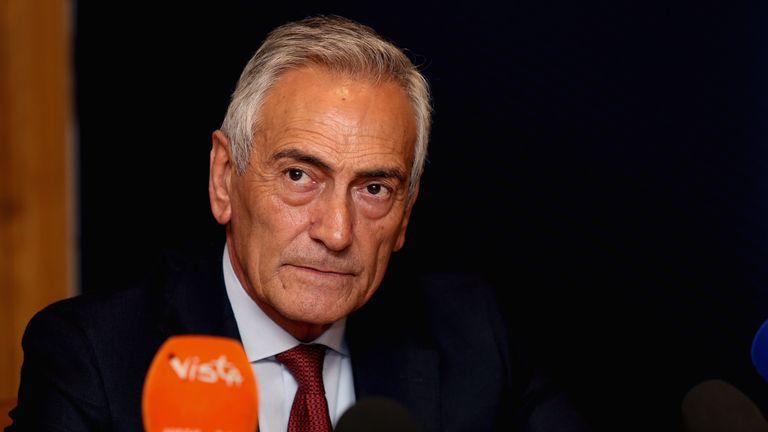 იტალიის ფეხბურთის ფედერაციის პრეზიდენტი სერია A-ს პლეი ოფის ფორმატით დასრულებას არ გამორიცხავს