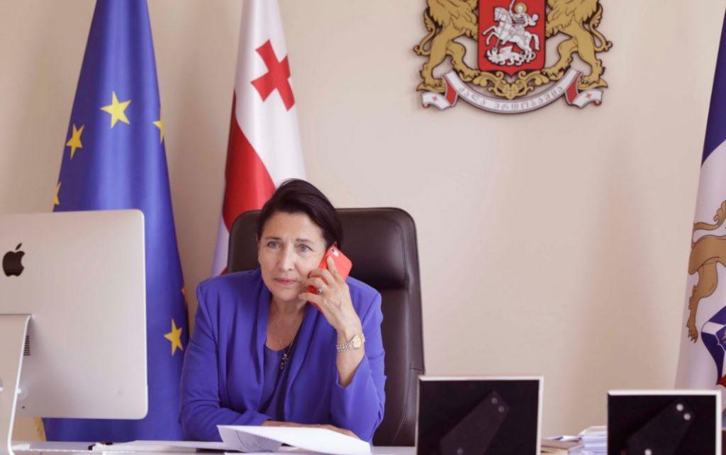 Salome Zurabishvili invited the Croatian president to Georgia