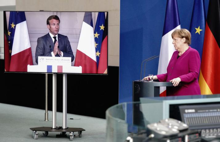 საფრანგეთი და გერმანია კორონავირუსისგან დაზარალებული ევროკავშირის წევრების დასახმარებლად 500 მილიარდი ევროს ფონდის შექმნის ინიციტივით გამოვიდნენ