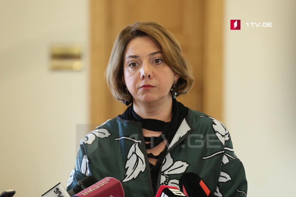 Salome Samadashvili – We are in consultation regime with international partners
