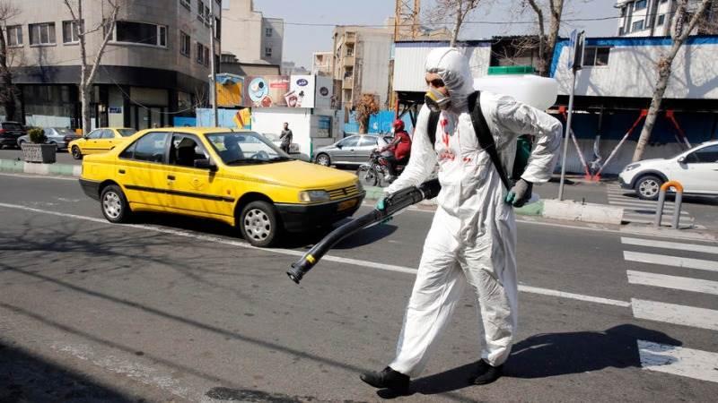 ირანში ბოლო 24 საათში კორონავირუსით64 ადამიანი დაიღუპა