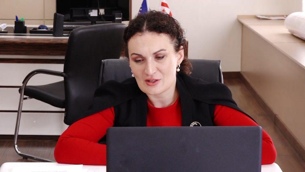 ქეთევან ციხელაშვილმა აშშ-ის საერთაშორისო განვითარების სააგენტოს მისიის ხელმძღვანელთან ვიდეოშეხვედრა გამართა