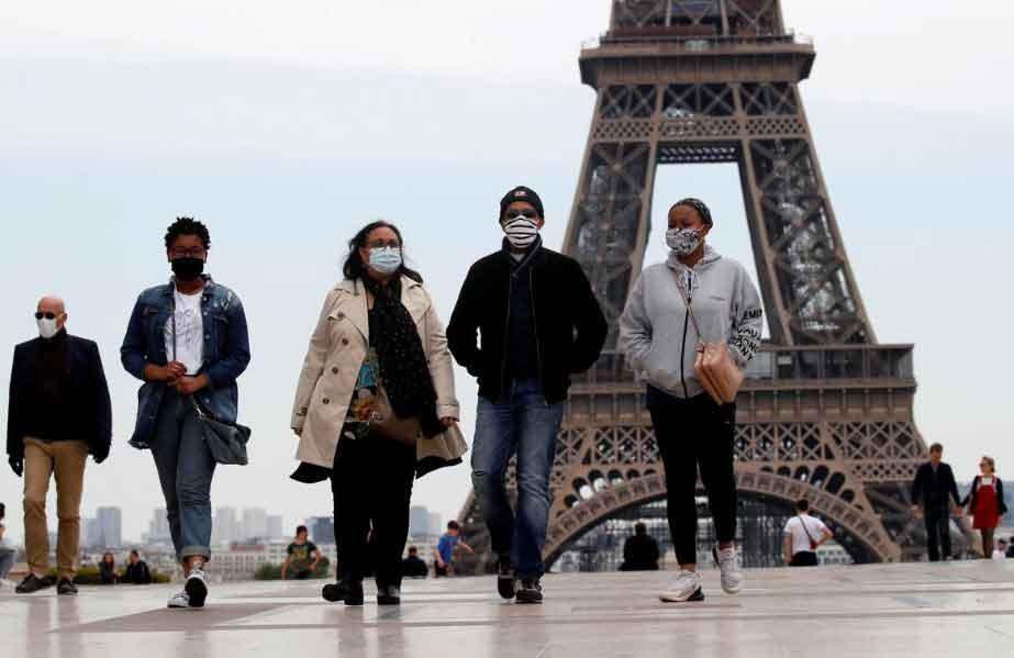 საფრანგეთში ბოლო დღე-ღამეში კორონავირუსით 83 ადამიანი გარდაიცვალა