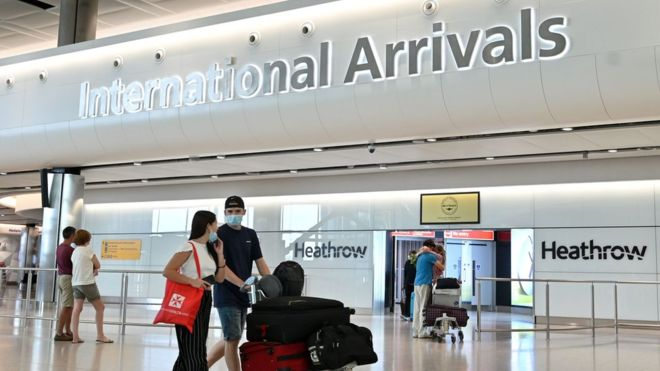 დიდ ბრიტანეთში ჩასულ მოგზაურებს 14-დღიანი კარანტინის გავლა მოუწევთ