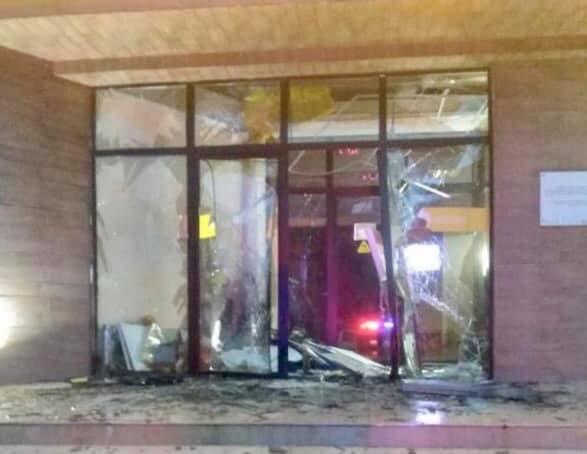 Explosion at Public Center of Kokhnari village