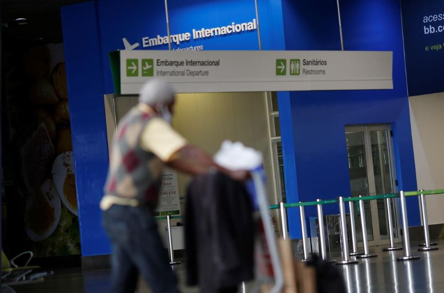 აშშ-მა ბრაზილიიდან უცხოელი მგზავრების მიღება შეაჩერა