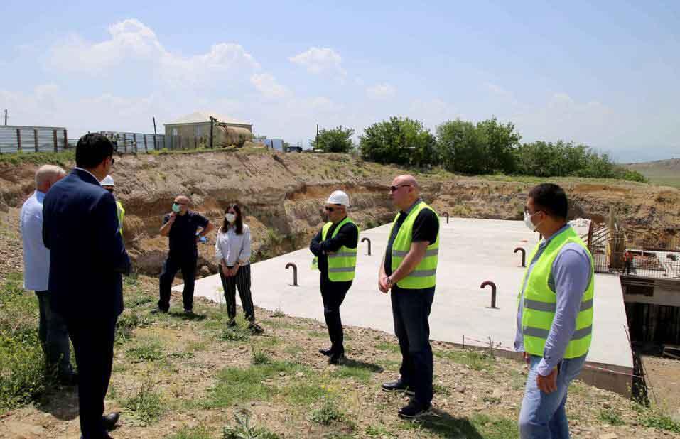 Մառնեուլիում վերսկսվել են ջրի և կոյուղիների ենթակառուցվածքների շինարարական աշխատանքներ