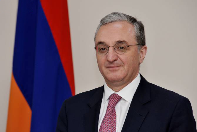 Armenian Foreign Minister congratulates Georgia on Independence Day
