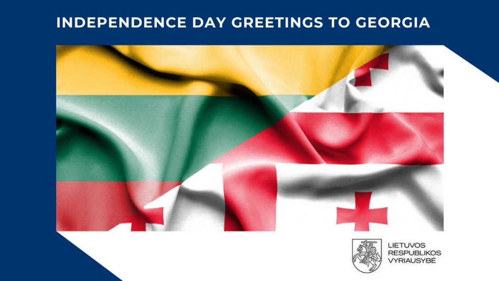 Lithuanian Prime Minister extends Independence Day greetings to Georgia