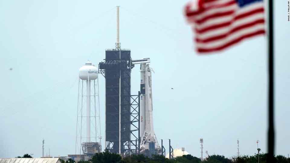 """""""სფეის იქსმა"""" და ნასა-მ რაკეტის კოსმოსში გაშვება უამინდობის გამო 30 მაისამდე გადადეს"""