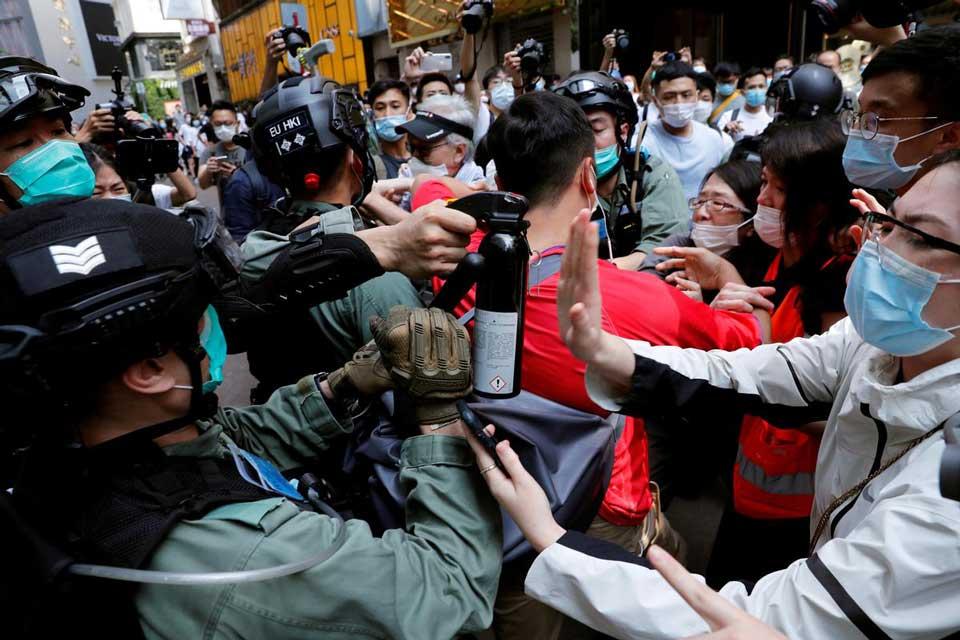 ჰონგ კონგში, საპროტესტო აქციაზე 360 მოქალაქე დააკავეს