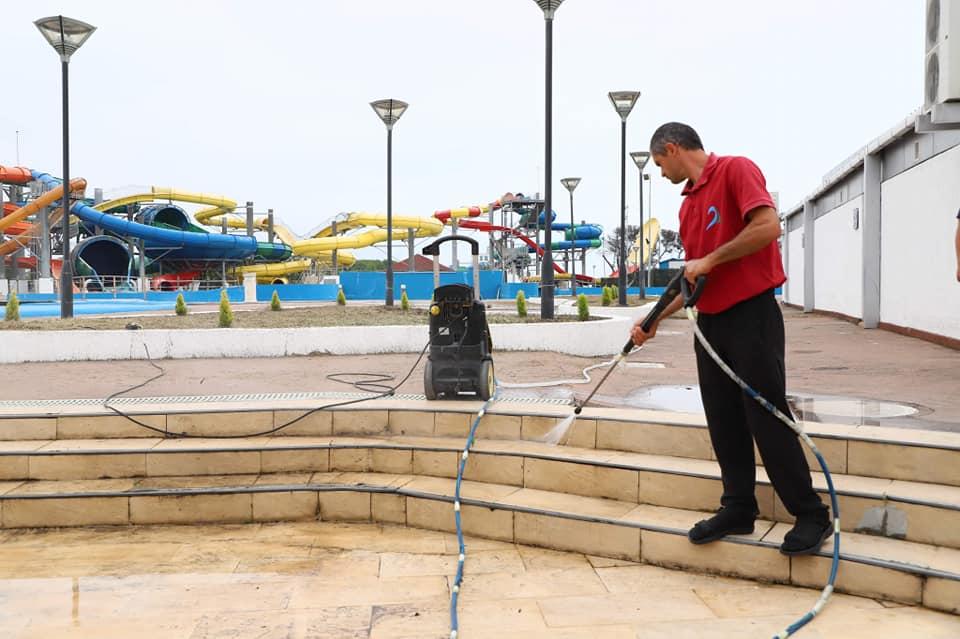 ანაკლია-განმუხურში ტურისტული სეზონისთვის სამზადისი მიმდინარეობს