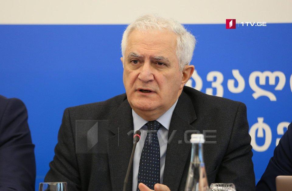 Ամիրան Գամղրելիձե. Եթե Հայաստանի հիվանդությունների վերահսկման կենտրոնը հարց բարձրացնի  իրենց  աջակցության համար, ապա մեր հիվանդությունների վերահսկման կենտրոնը  պատրաստ է օգնել