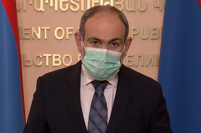 Armenian PM - If this tempo is kept, Armenia will reach the level of Italy with respect to  infection cases per million population