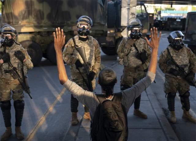 მინეაპოლისში მიმდინარე მოვლენებთან დაკავშირებით, პენტაგონმა სამხედრო პოლიციის რამდენიმე დანაყოფი მოამზადა