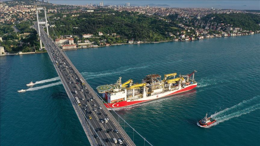 თურქეთი შავ ზღვაში პირველ ღრმა საძიებო-ბურღვით კვლევას იწყებს