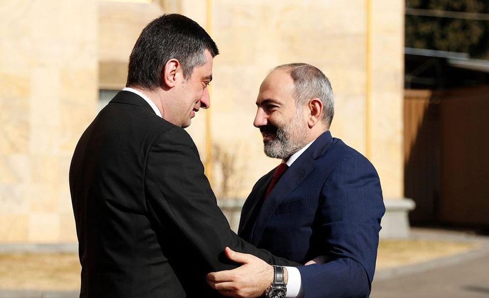 Giorgi Gakharia congratulates Nikol Pashinyan on birthday