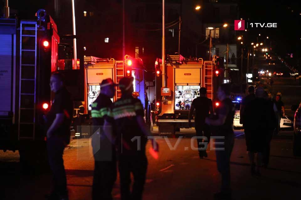 Թբիլիսիի Ամաշուկելի փողոցի պայթյունի հետևանքով տուժած մեկ անձի տեղափոխել են հիվանդանոց
