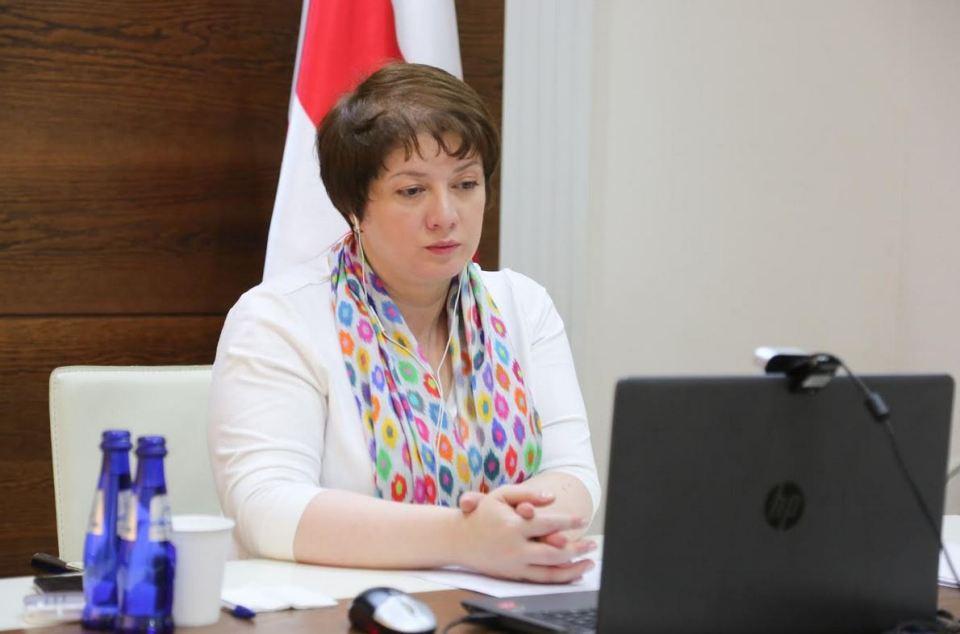 მაია ცქიტიშვილმა EBRD-ის ინიციატივით გამართულ ონლაინ კონფერენციაში მიიღო მონაწილეობა