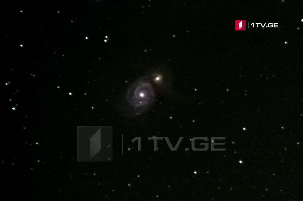 მორევის გალაქტიკა ირაკლი გედენიძის ასტროობიექტივში