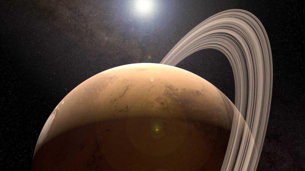 კიდევ ერთი მტკიცებულება მიუთითებს, რომ მარსს ერთ დროს რგოლი ჰქონდა