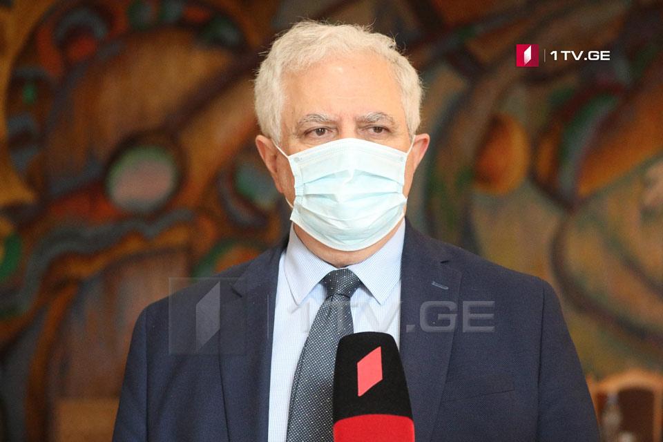 Амиран Гамкрелидзе - В кластере Сабуртало подтверждено уже 24 случая заражения, исследовано более 150 контактов