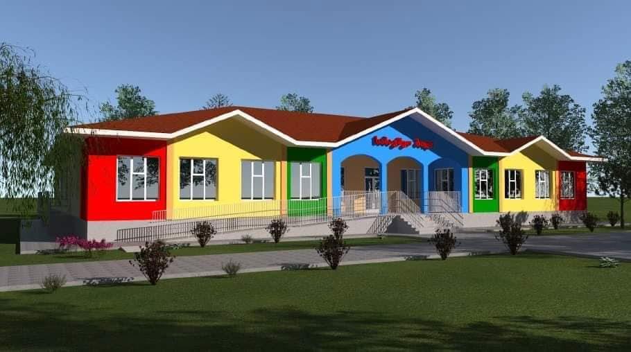 ზუგდიდში, დევნილთა ჩასახლებაში ახალი საბავშვო ბაღი აშენდება