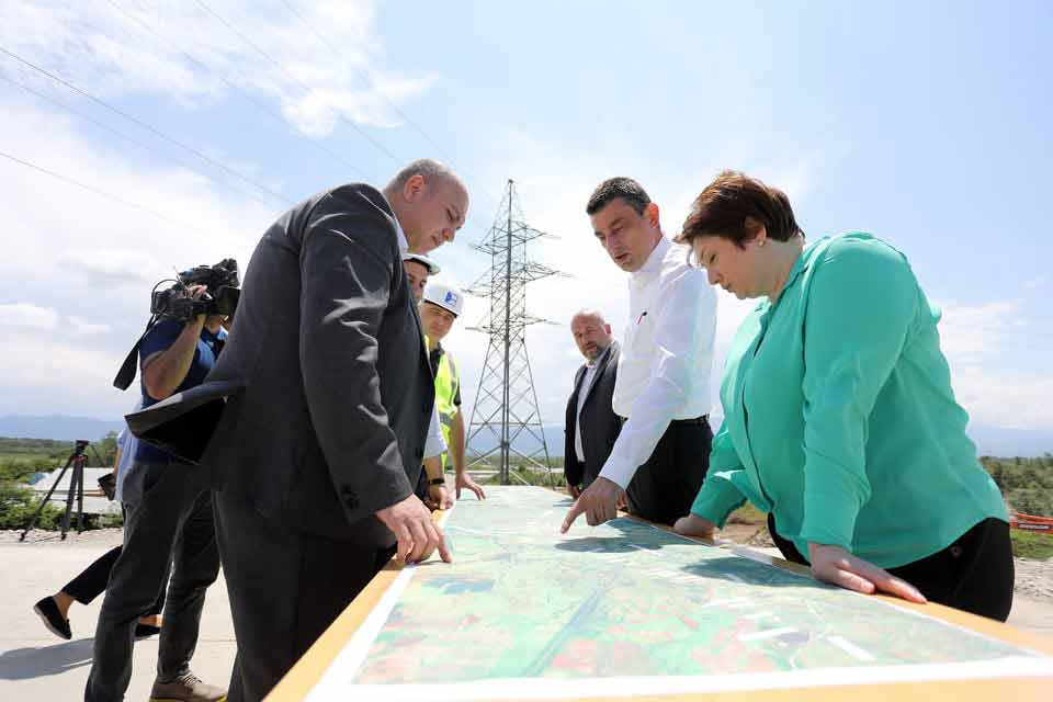 Prime Minister visits construction site of Kutaisi Bypass Road – Traffic will resume at 19-kilometre-long highway from July