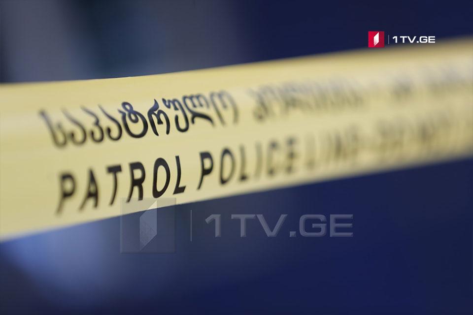 პოლიციამ გორში ჯანმრთელობის განზრახ მძიმე დაზიანების ბრალდებით ერთი პირი დააკავა