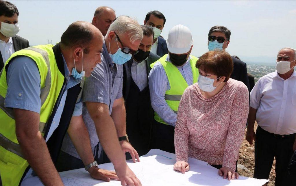 Մառնեուլիում ջրամատակարարման և ջրահեռացման համակարգերի կառուցումը կավարտվի հաջորդ տարի
